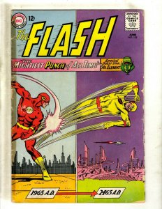 Flash # 153 VG DC Silver Age Comic Book Batman Superman Arrow Green Lantern J462