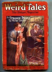Weird Tales 3/1928-Murray Leinstar-Robert E. Howard-Pulp Magazine
