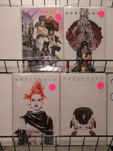 Descender (Image 2015) Lot of 4Diff Jeff Lemire Survival of the Last Android