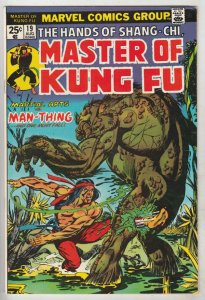 Master of Kung Fu, the Hands of Shang-Chi #19 (Aug-74) VF/NM High-Grade Shang...