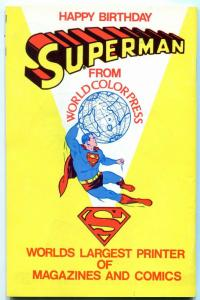 Amazing World Of DC Comics Special Edition #1 Super DC Con 1976