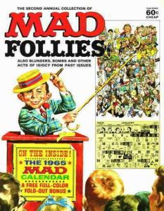 Mad Follies #2 VG; E.C   low grade comic - save on shipping - details inside