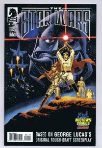Star Wars George Lucas Draft #1 2013 Dark Horse Midtown Exclusive Poster Homage