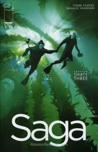 Saga (Image) #33 VF/NM; Image | save on shipping - details inside