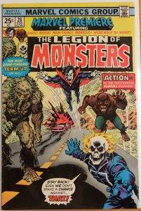 Marvel Premiere #28 (1976) Very Good Fine 5.0 - Morbius - Ghost Rider - Werewolf
