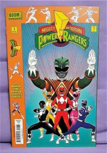 Mighty Morphin Power Rangers #1 Launch Party Kit Variant Cover (Boom!, 2016)!