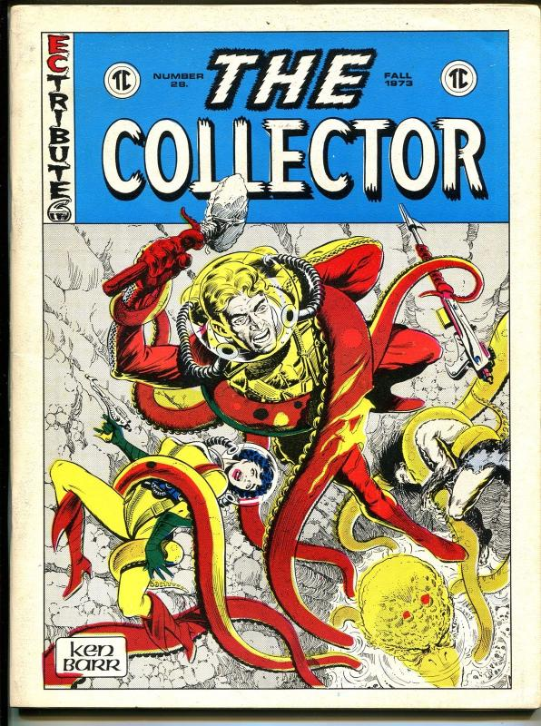 Collector #12 1973-EC Tribute cover-Shadow-Don Newton-Ken Barr-FN
