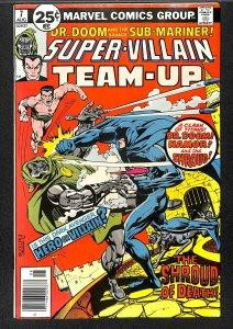 Super-Villain Team-Up #7 VF+ 8.5