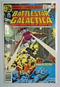 Battlestar Galactica #1 - Newsstand 7.0 (1979)