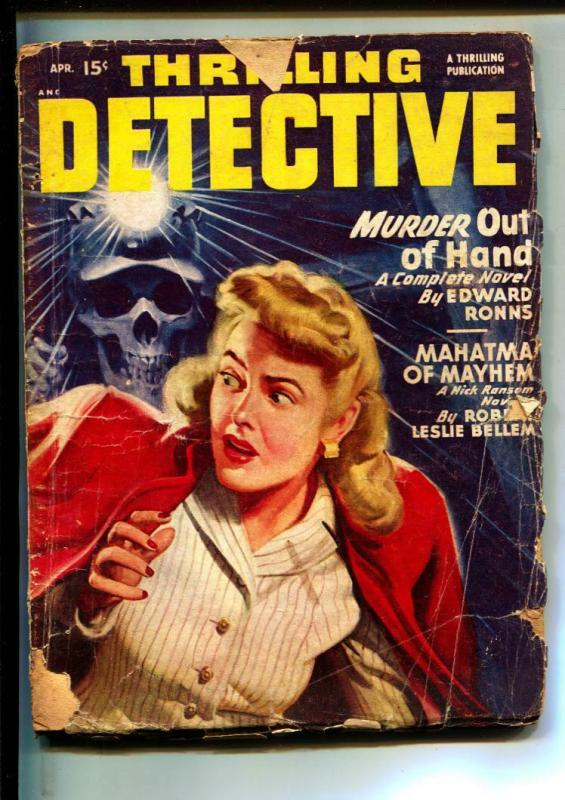 Thrilling Detective-Pulps-4/1948-Tedd Thomey-Edward Ronns