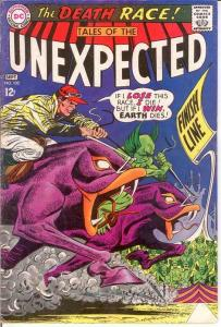 UNEXPECTED (TALES OF) 102 VG-F  September 1967 COMICS BOOK