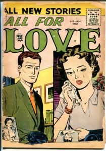 All For Love Vol.2 #4 1958-Prize-love triangle cover-P