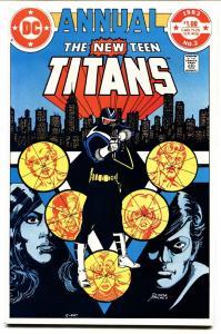 NEW TEEN TITANS ANNUAL #2 comic book 1983-1st VIGILANTE- DC