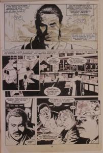 PAUL GULACY original art, MARVEL COMICS PRESENTS #31 pg 20,11x16, ColdBlood