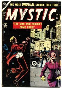 MYSTIC #34 1954-comic book vg ATLAS-SCI-FI-DINOSAURS-VIOLENCE-TERROR-PRE-CODE
