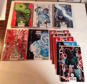 Finial Crisis 1-7 Complete With Tie Ins Near Mint Lot Set Run Legion Rogues More