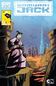 Samurai Jack #18 MEFCC Convention Variant IDW Middle East Film Comic Con Dubai