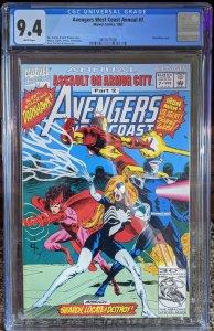 Avengers West Coast Annual #7 (1992)