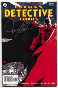 Detective Comics #777 2003- BATMAN- Signed by David Castillo