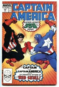 Captain America #350-Steve Rogers returns-Origin of Red Skull 1989