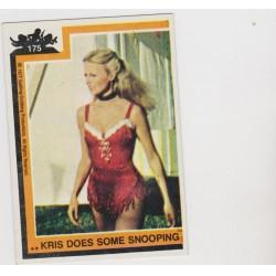 1977 Topps Charlie's Angels KRIS DOES SOME SNOOPING #175