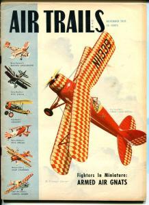 AIR TRAILS 11/1950-PULP-CALHOUN SMITH-FAMOUS BI-PLANES-AVIATION PIX-fn minus