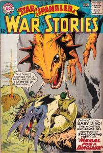 Star Spangled War Stories #117 (Nov-64) FN/VF Mid-High-Grade Dinosaur