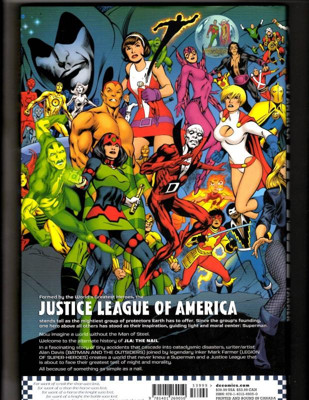THE NAIL Justice League Complete Deluxe DC Comics HARDCOVER Graphic ...