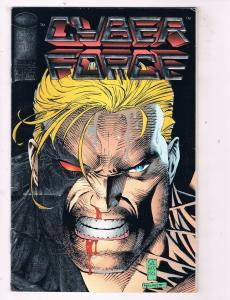 Cyber Force #4 FN/VF Image Comics Modern Age Comic Book Jul 1993 DE48