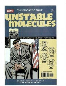 10 Marvel Comics Fantastic Four Unstable Molecules 1 2 3 4 Spiderman 2 3 + J452