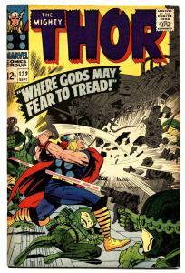 THOR 132 comic book-1st ego 1966-Marvel Silver-Age GOTG VG/fn