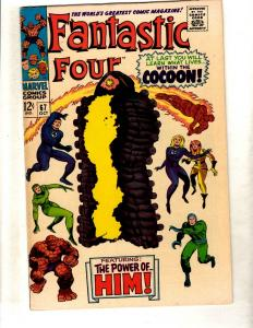 Fantastic Four # 67 NM- Marvel Comic Book Dr. Doom Human Torch Thing FM3