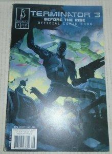 Terminator 3 B Before The Rise # 2 2003 Beckett Comics