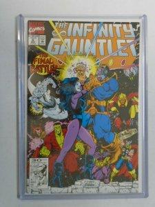 Infinity Gauntlet #6 9.2 NM- (1991 1st Series)