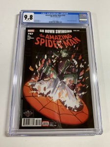 Amazing Spider-man 797 Cgc 9.8 White Pages Marvel