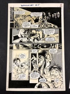 Kevin Kobaic/Greg Adams Deathlok #27 Page 5 Original Comic Art