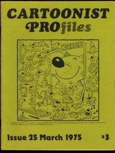 CARTOONIST PROFILES #25-1975-HEATHCLIFF-GEORGE MCMANUS FN/VF