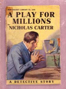 NEW MAGNET LIBRARY-#1288-PLAY FOR MILLIONS-NICK CARTER FR