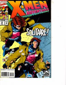 Lot Of 2 Marvel Comic Books X-Men Adventures #14 and Secateurs #2 ON3