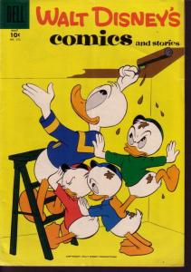 WALT DISNEY'S COMICS & STORIES #212 DONALD DUCK  BARKS VG/FN