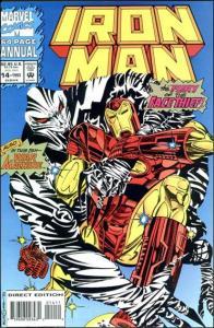 Marvel IRON MAN (1968 Series) Annual #14 VF/NM