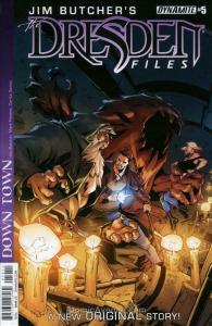 Dresden Files, The: Down Town (Jim Butcher's…) #5 VF/NM; Dynamite | save on ship