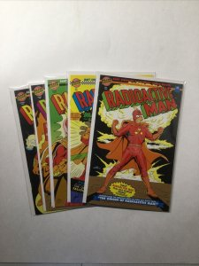 Radioactive Man 1 88 216 412 679 Lot Run Set Near Mint Nm Bongo Comics Group