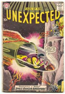 Tales Of The Unexpected #43 1959-DC COMICS-1st SPACE RANGER COVER- G/VG
