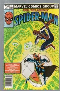 SPIDERMAN ANN 14 FN- 1980