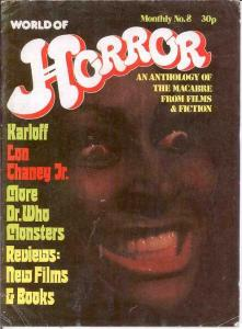 WORLD OF HORROR (1970S DALLRUTH)   8 G-VG