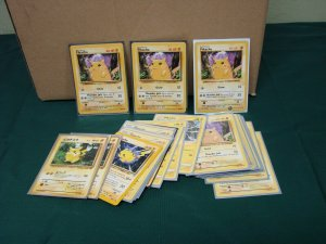 Pokemon TCG Cards LOT Pikachu & Raichu 27 Cards Shadowless Red Cheeks & More