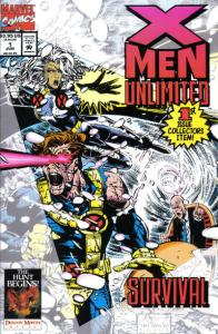 X-Men Unlimited (1993 series) #1, NM (Stock photo)