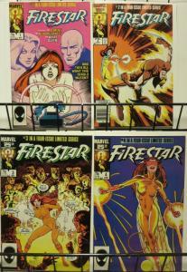 FIRESTAR 1-4 Wolverine,BWSmith,White Queen complete