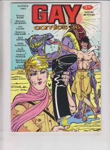 Gay Comix #16 FN underground - roberta gregory - donna barr - desert peach 1992